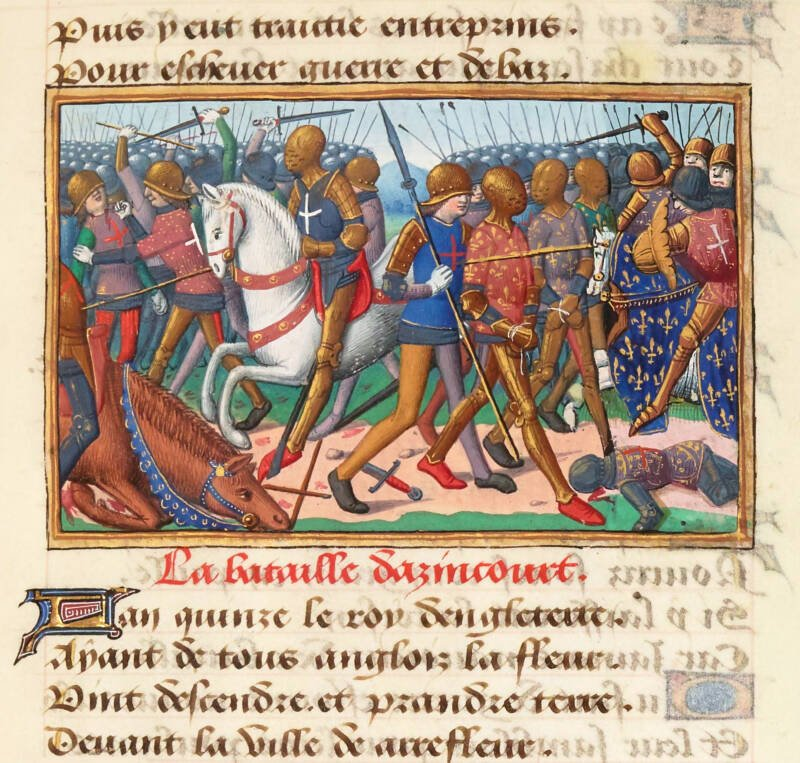 Battle Of Agincourt Miniature