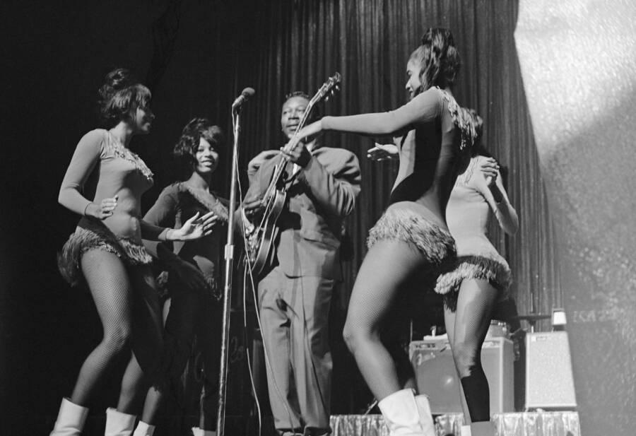 B.B. King Performing At The Apollo