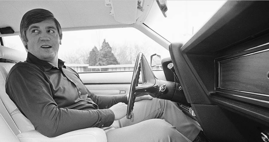 Buford Pusser Inside His Car