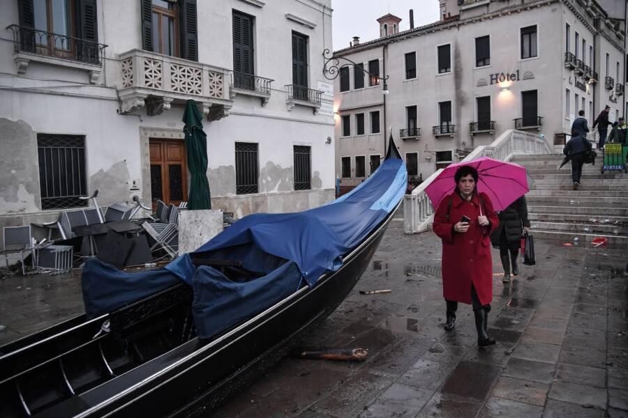 Capsized Gondola