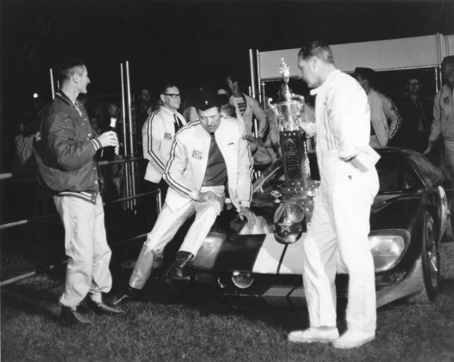 Carroll Shelby Ken Miles Le Mans 1966