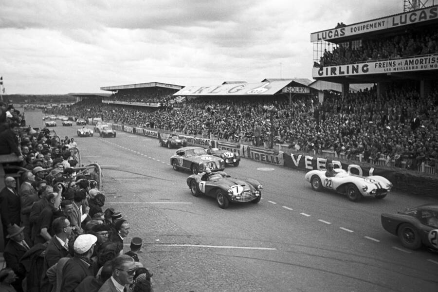 Cars Competing At Le Mans