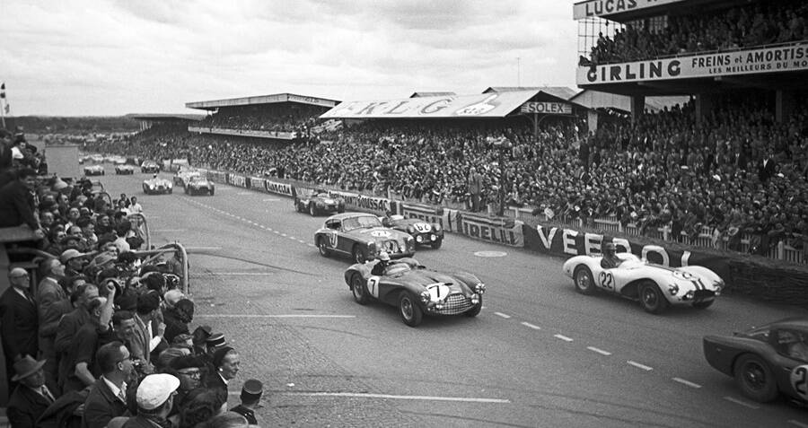 Cars Lineup At Le Mans