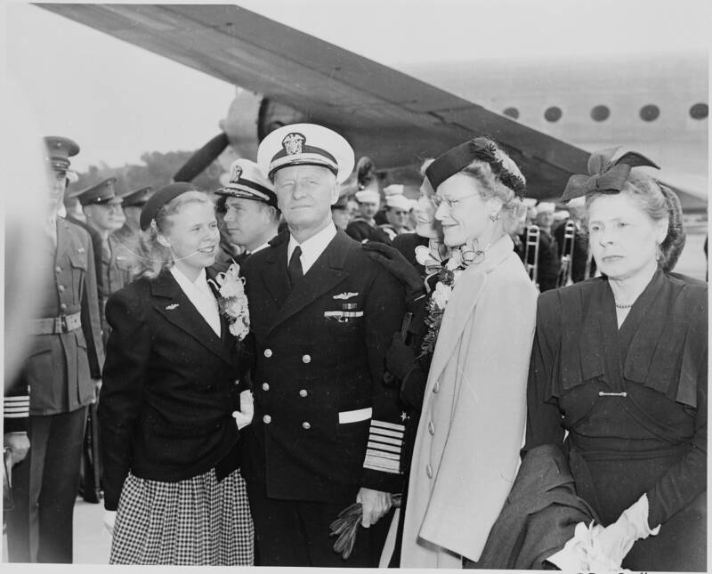 Chester Nimitz And Family