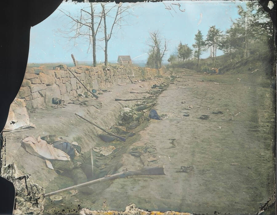 Color Civil War Photo Of Fredericksburg