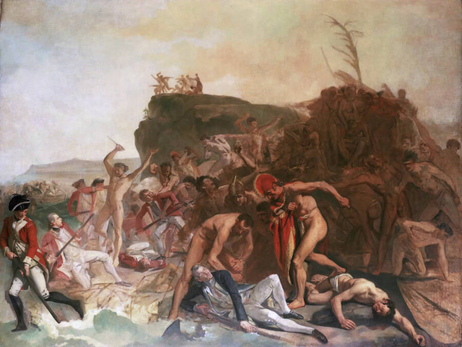 Death Of James Cook