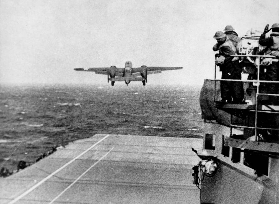 Doolittle Raider Take Off