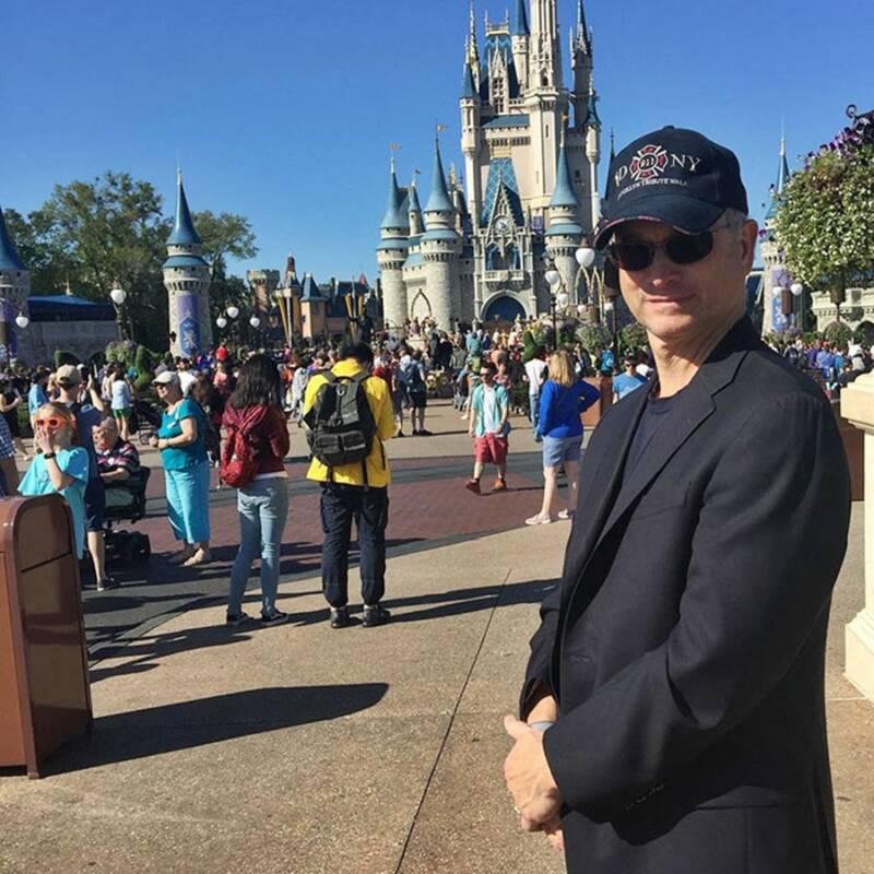 Gary Sinise At Disney World