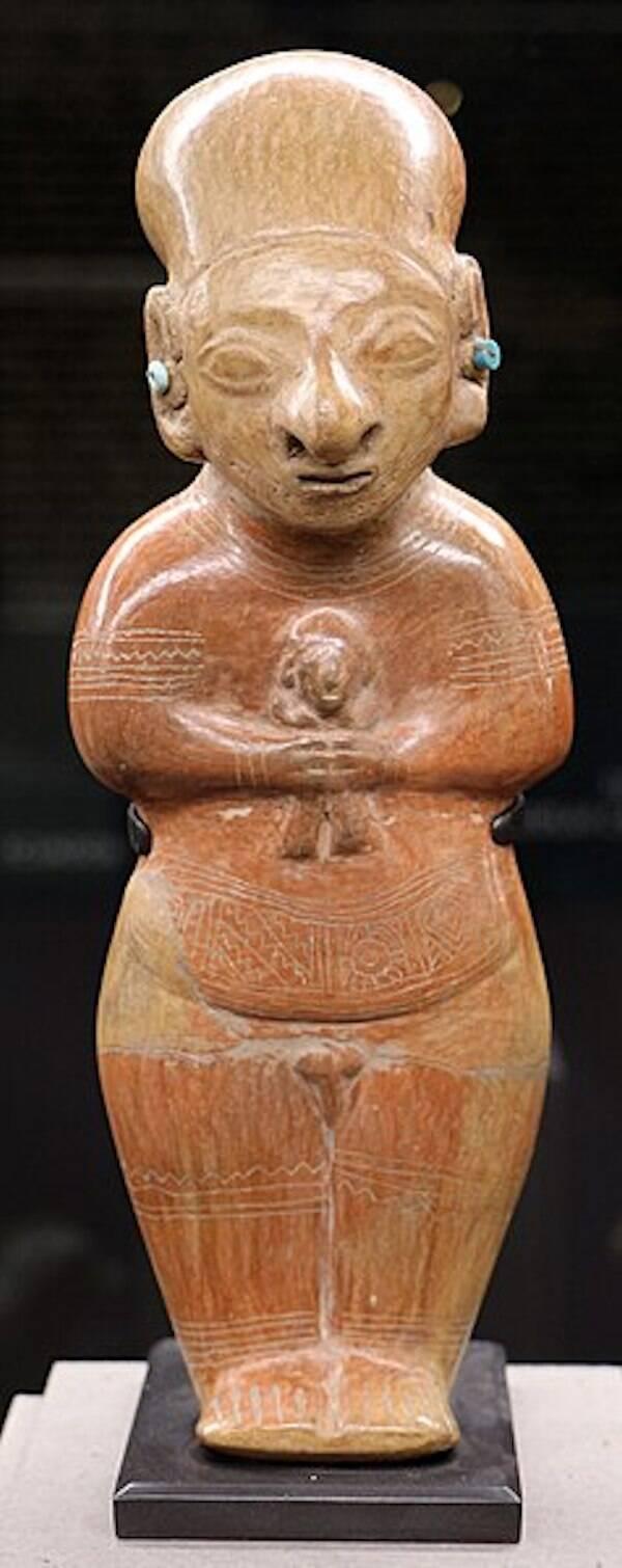 Guangala Figurine