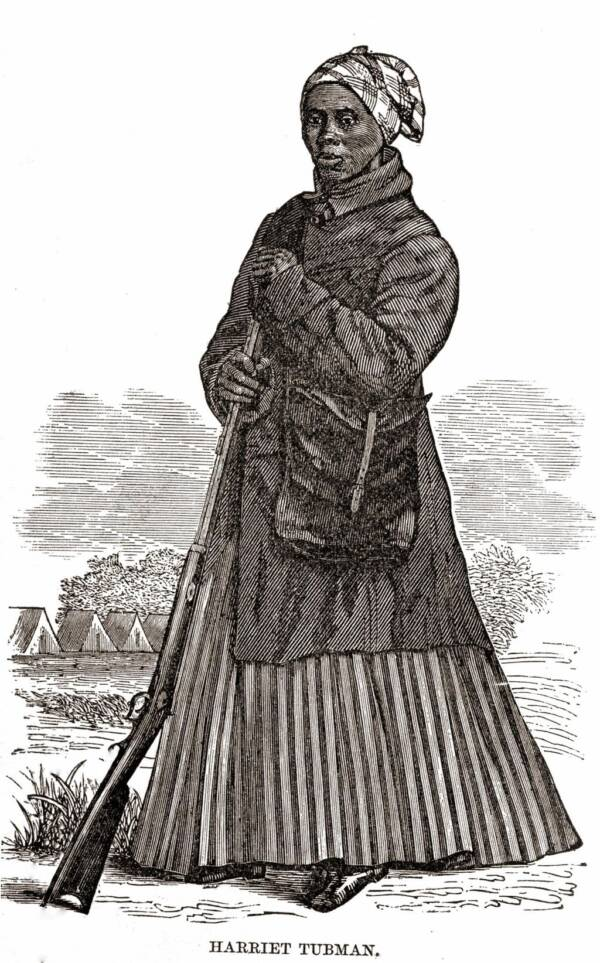 Harriet Tubman In Civil War Uniform