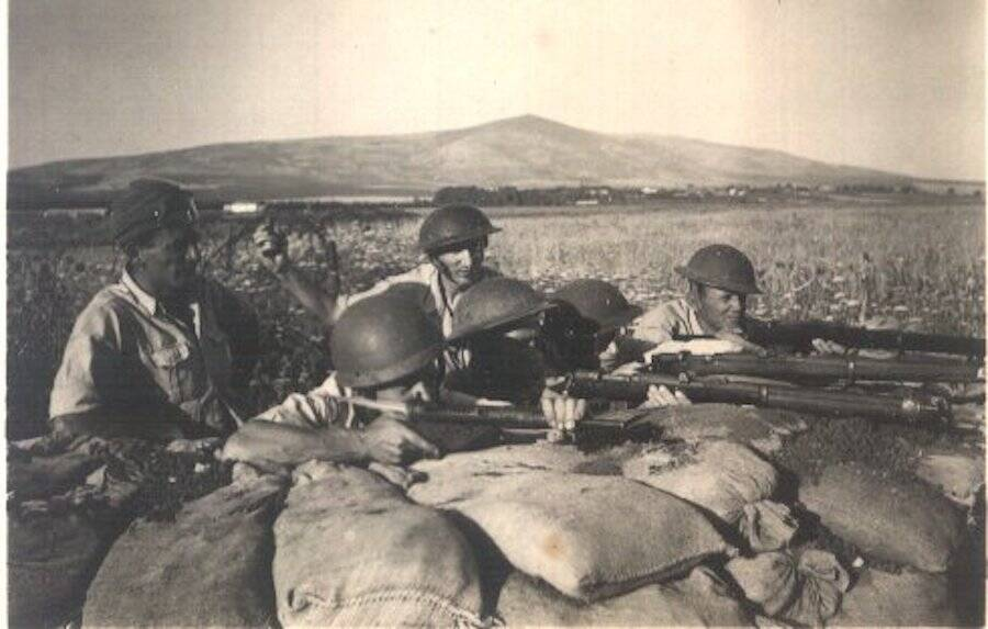 Israeli Soldiers During The Arab-Israeli War