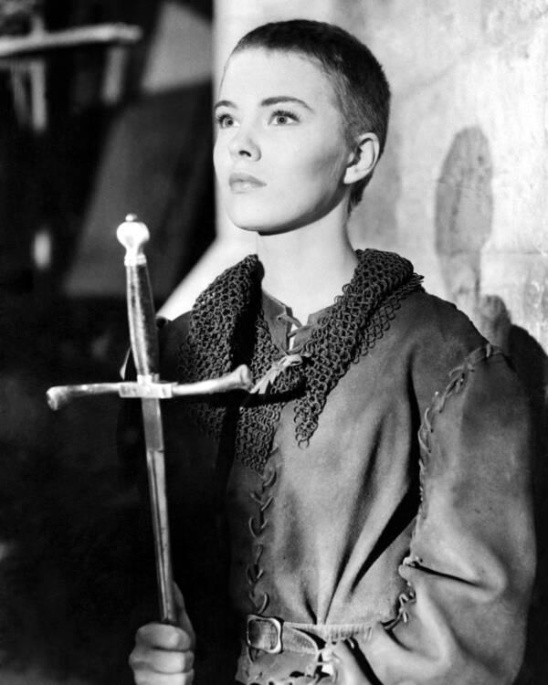 Jean Seberg As Joan Of Arc