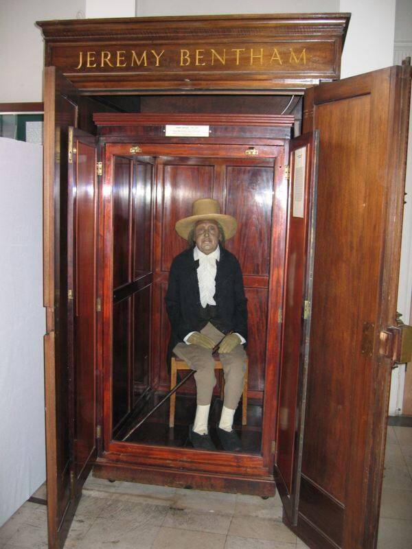 Jeremy Bentham's PReserved Body