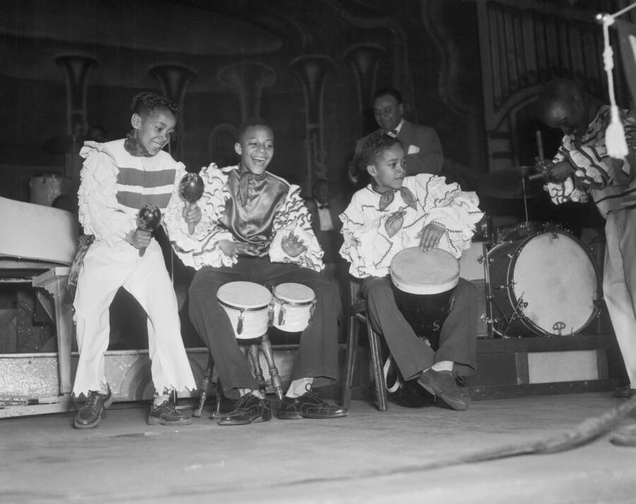 Kids Playing Music At Apollo Amateur Night