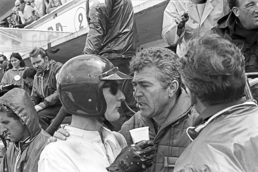 Miles And Shelby At Le Mans