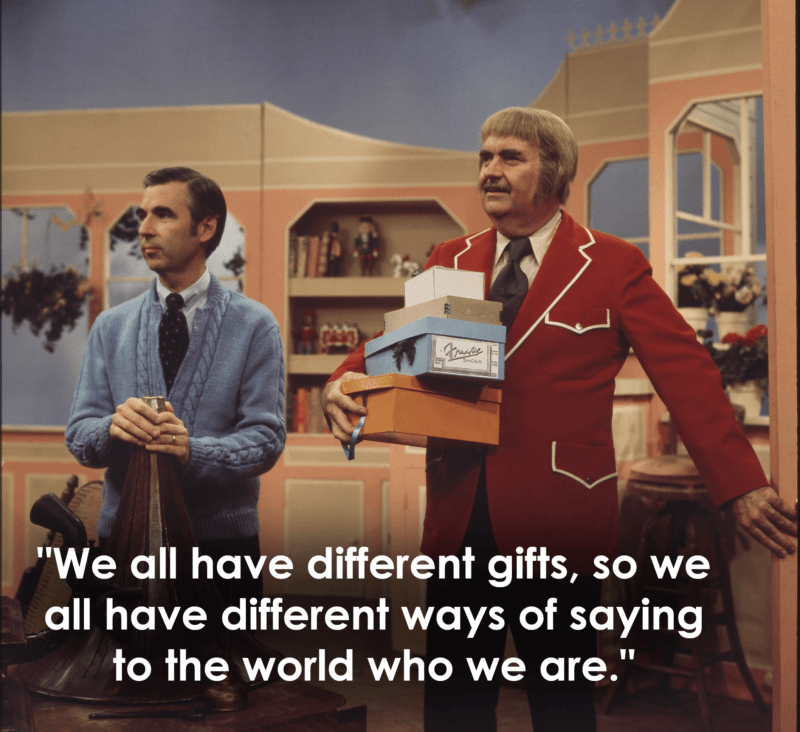 Mr Rogers And Captain Kangaroo