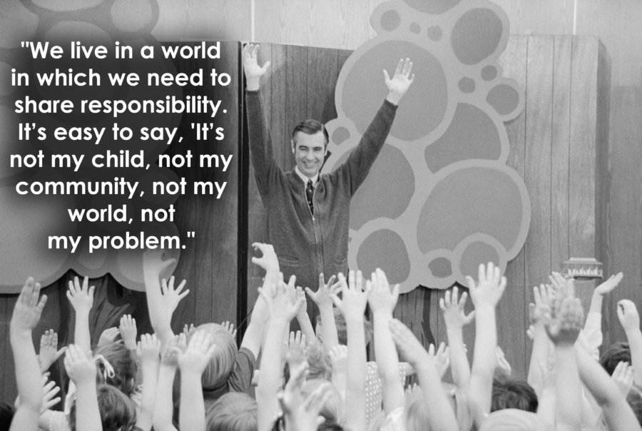 Mr Rogers Entertaining Children