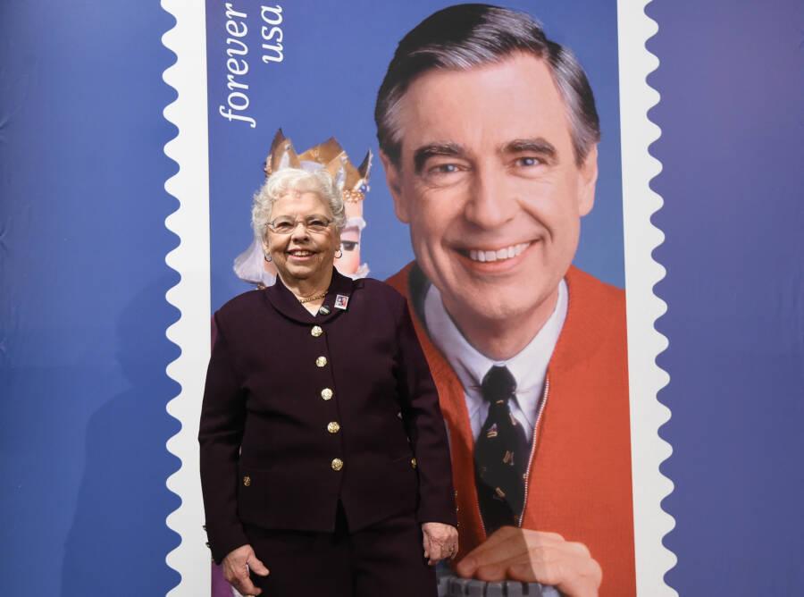 Mr Rogers Stamp Dedication