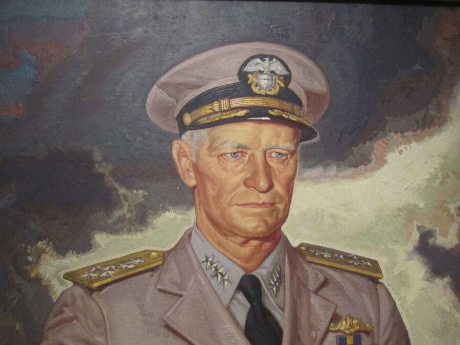 Nimitz National Portrait Gallery