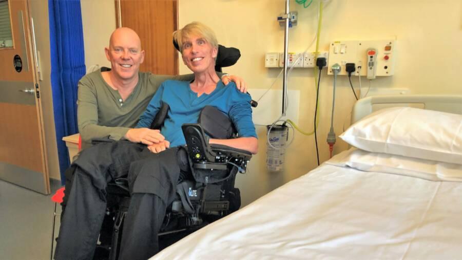 Peter Scott-Morgan In The Hospital