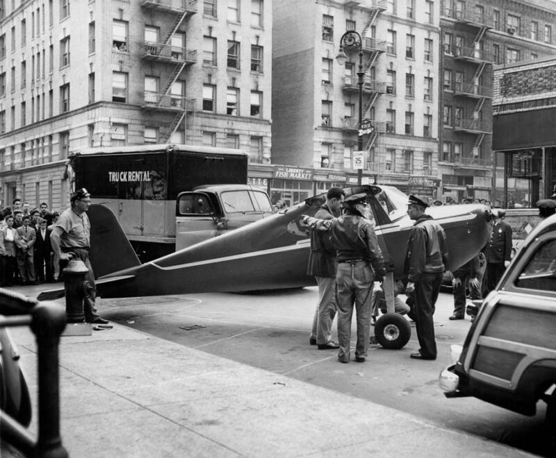 Thomas Fitzpatrick's Plane Parked In Manhattan