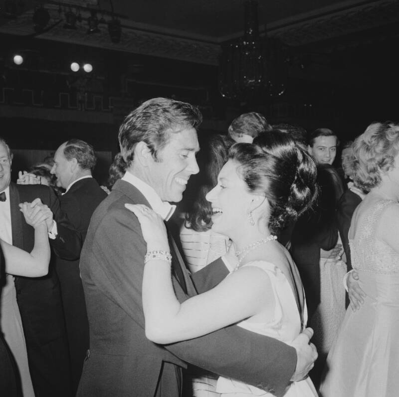 Princess Margaret And Lord Snowdon Dancing