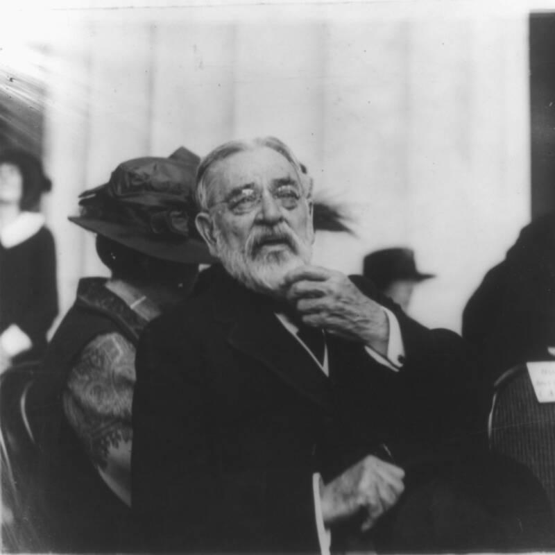 Robert Todd At His Father's Memorial