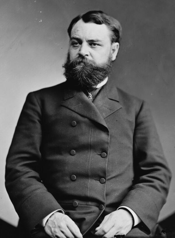Robert Todd Lincoln Seated