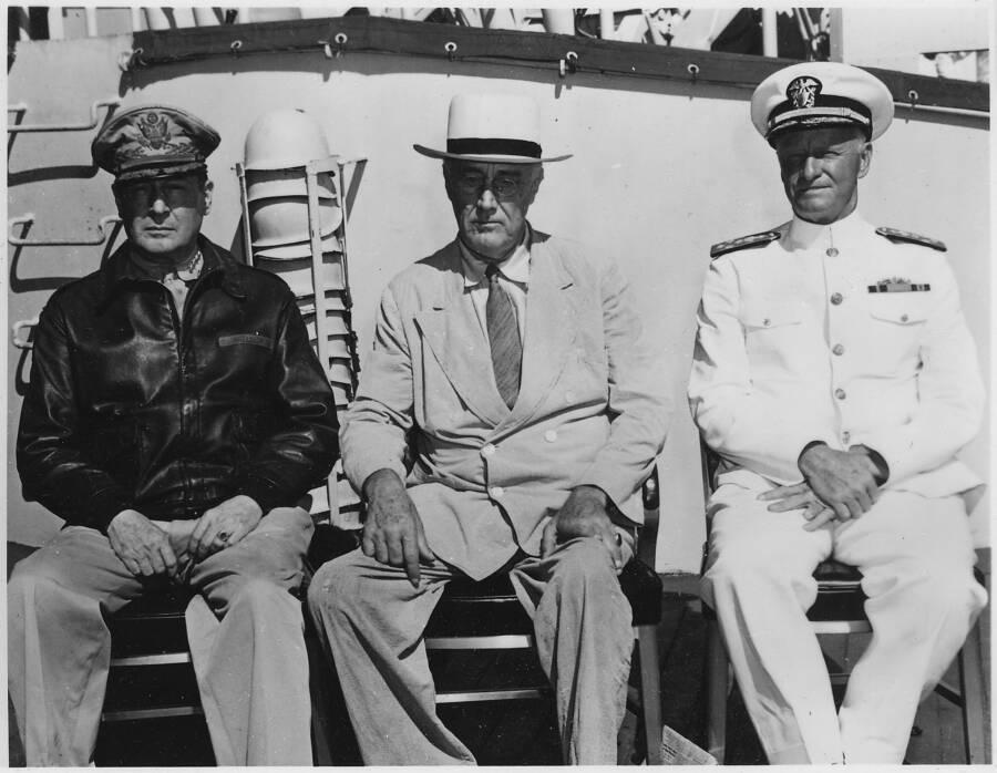 Roosevelt Macarthur Nimitz