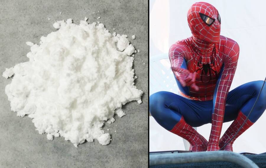 Spider Man And Heroin