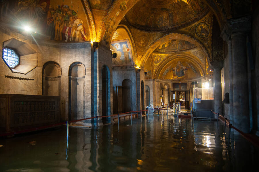 St Marks Basilica In Water