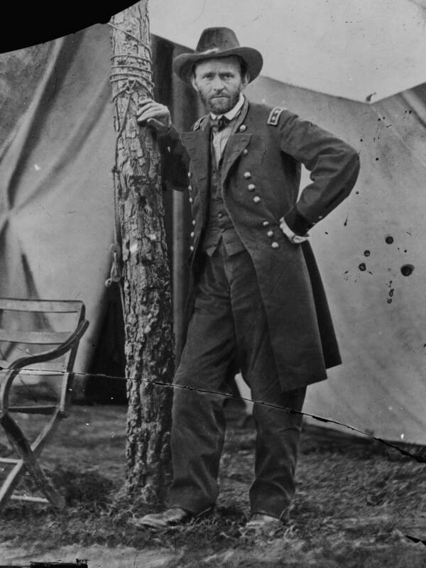 General Ulysses S. Grant At Cold Harbor