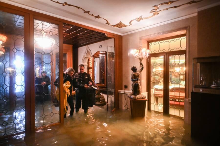 Venice Hotel Flood