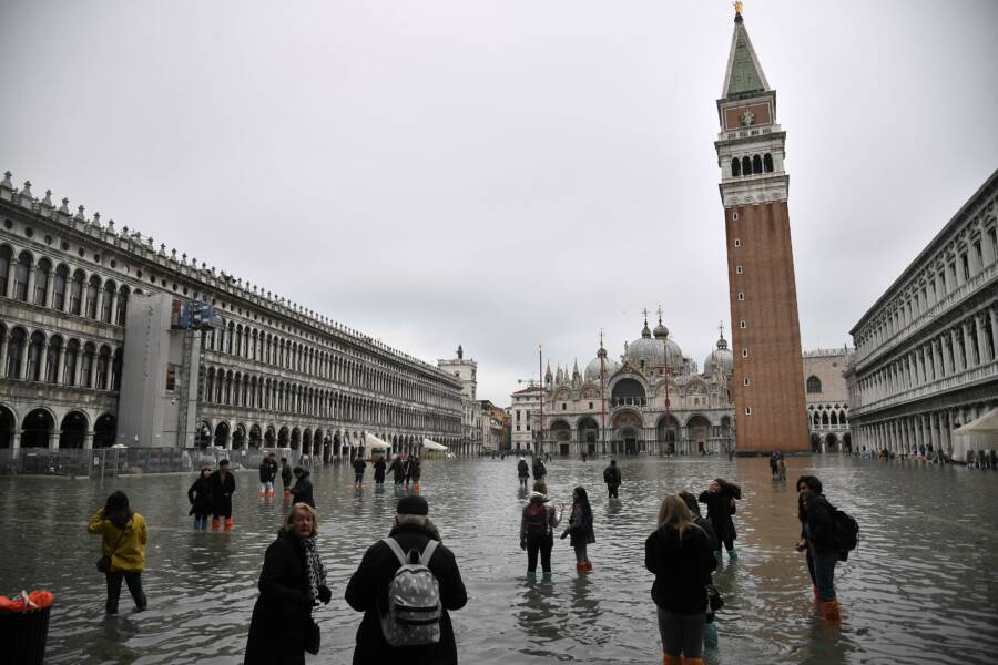 Venice Square Flood