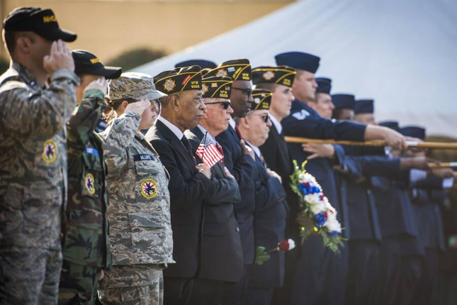 Veterans Day Ceremony In Japan