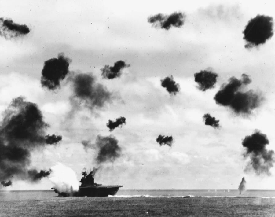 Yorktown Midway Torpedo Attack