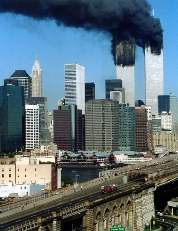Doomed Fire Truck On 9/11
