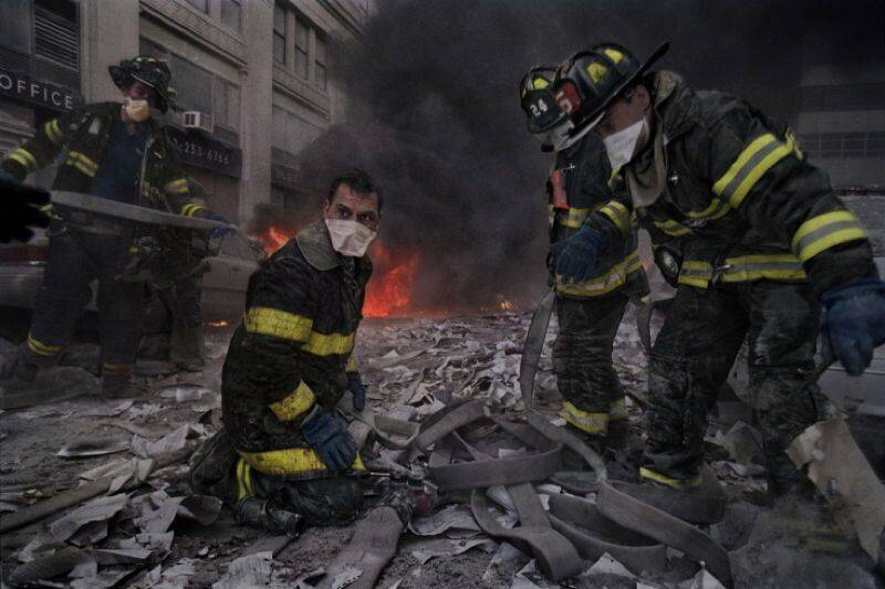 9/11 Photographs Of Firefighters