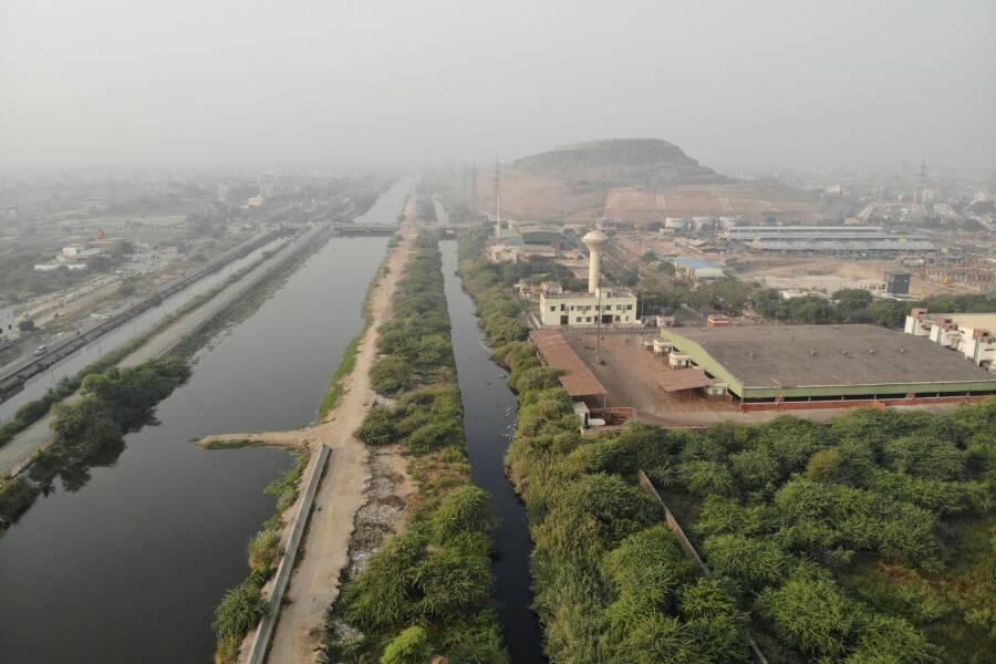 Aerial Photo Ghazipur