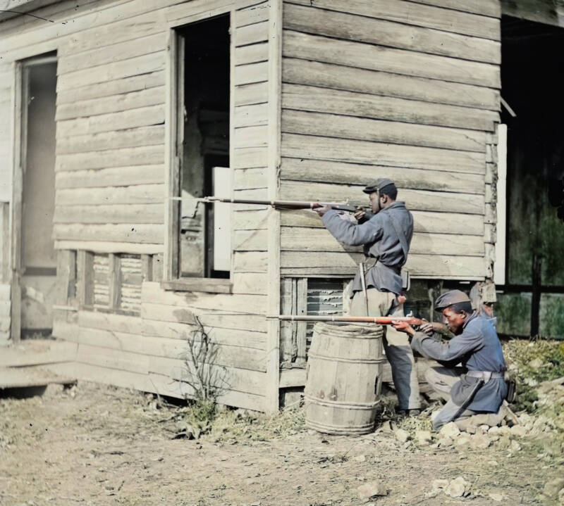 African American Union Soldiers In Civil War