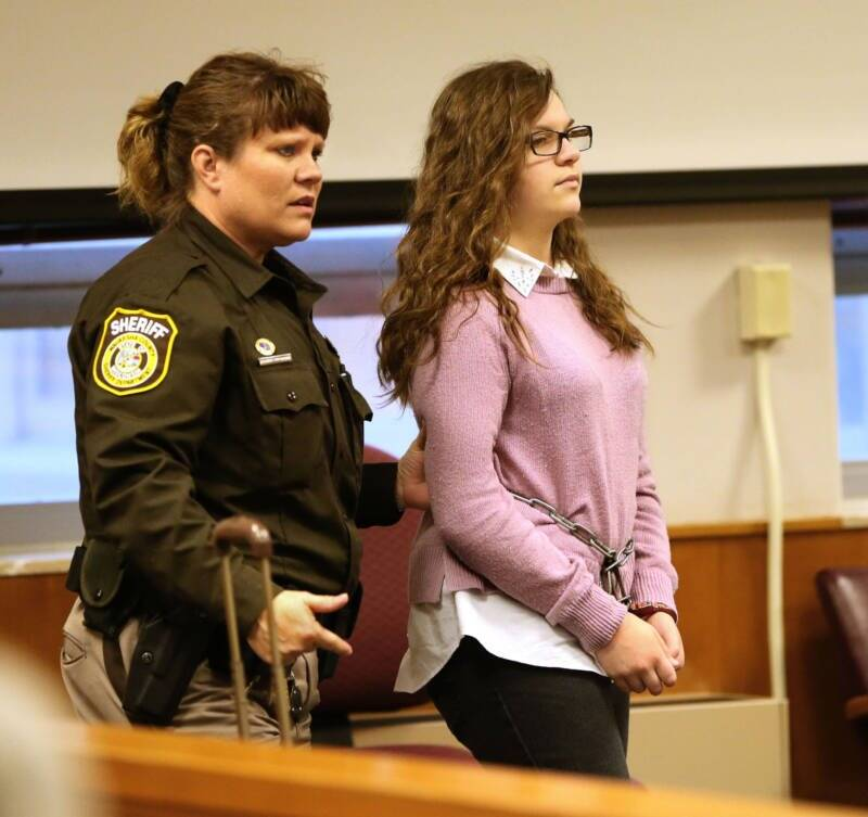 Anissa Weier In Court