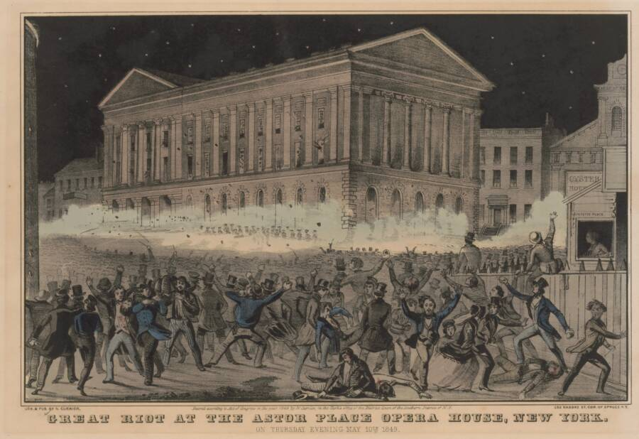 The Astor Place Riot