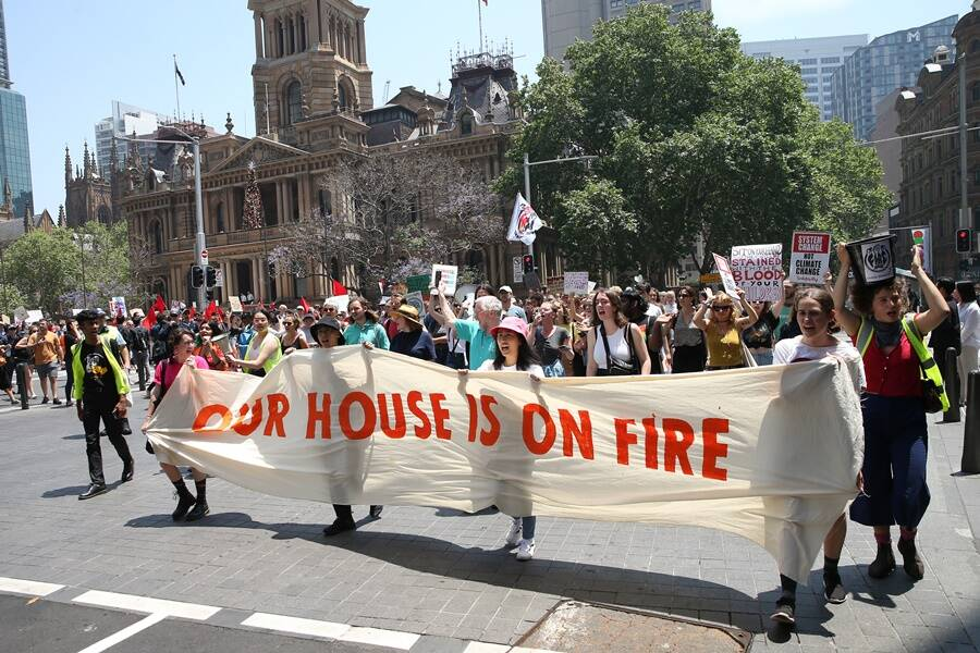 Australian Climate Protest