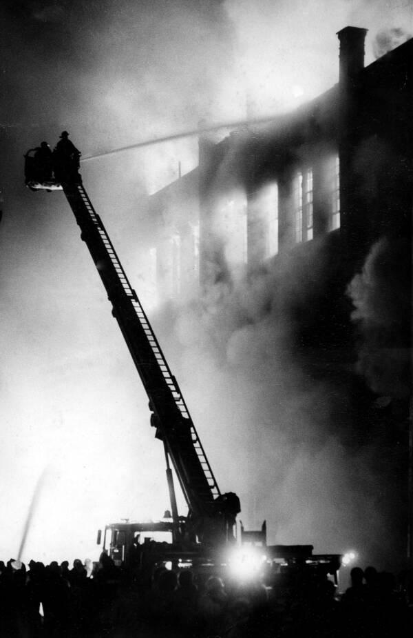 Bronx Fire Near Yankee Stadium