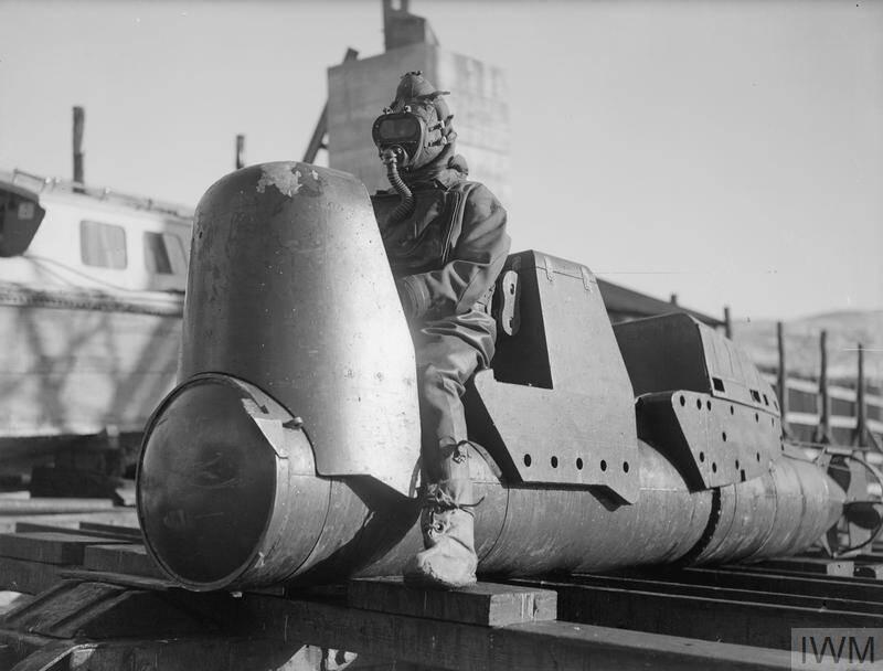 Chariot Torpedo No Warhead