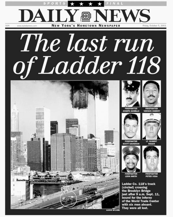 Daily News Photo Of Ladder 118