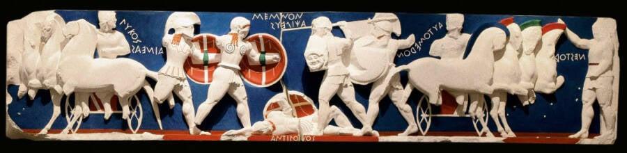 Delphi Greece Statue Reconstruction