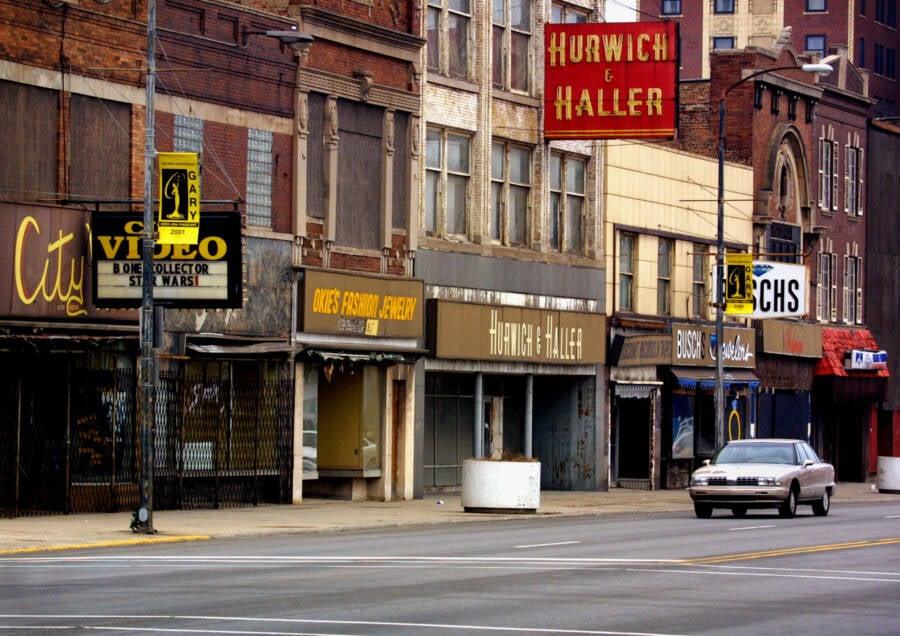 Downtown Gary Indiana