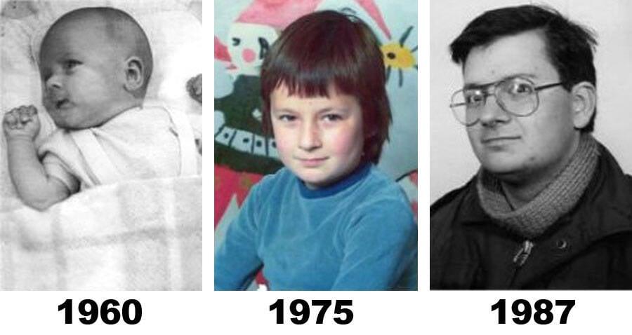 Ed Houben Childhood
