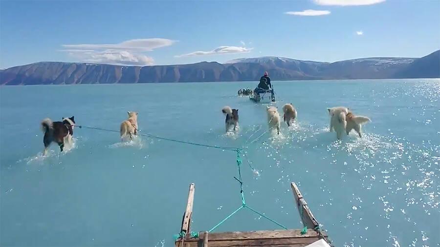 Greenland Ice Melt 2019
